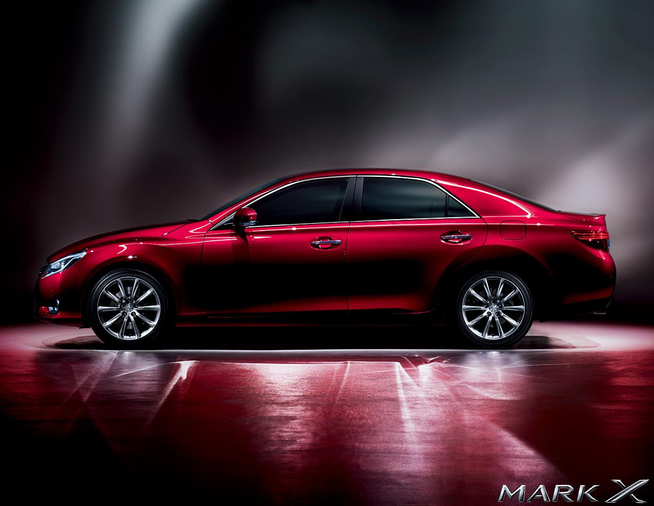 Brand New Toyota Mark X Picture Wallpaper Photo Of New