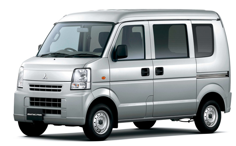 New Mitsubishi Minicab Van Picture: Front Photo