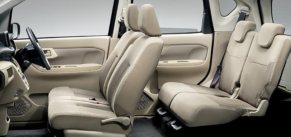 New Daihatsu Move photo: interior view image
