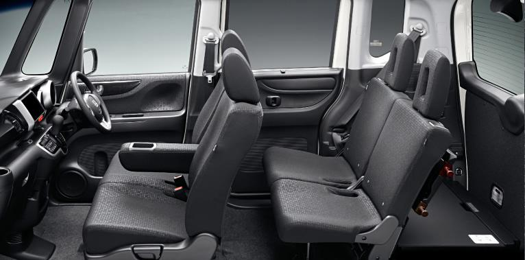 New Honda N Box Plus Custom Interior Picture Inside View Photo And Seats Image