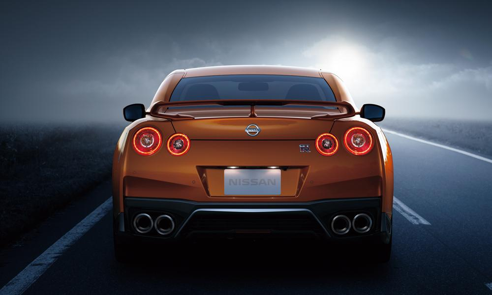 New Nissan GTR photo: Back (Rear) view 3