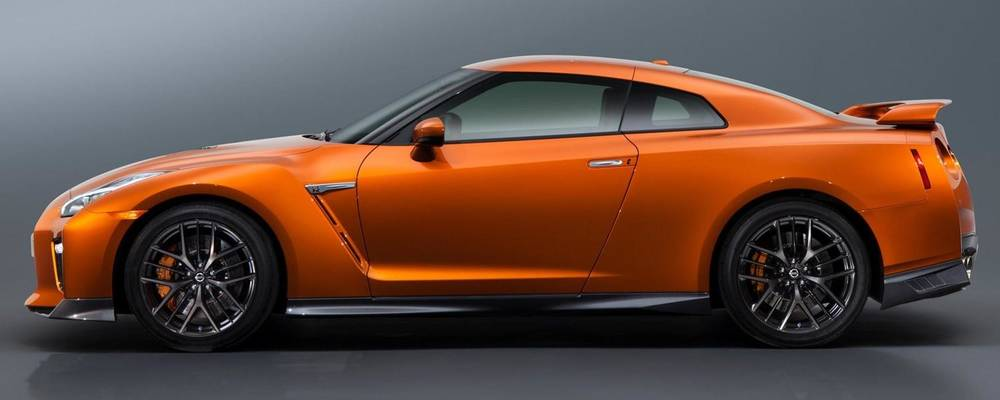 New Nissan GTR photo: Side view