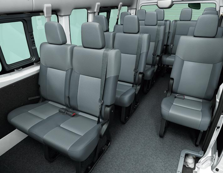 New Nissan NV350 Caravan Micro Bus Photo Interior View