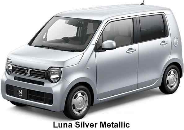 New Honda N-Wagon body color: Luna Silver Metallic