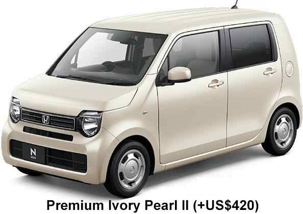 New Honda N-Wagon body color: Premium Ivory Pearl II (option color +US$420)