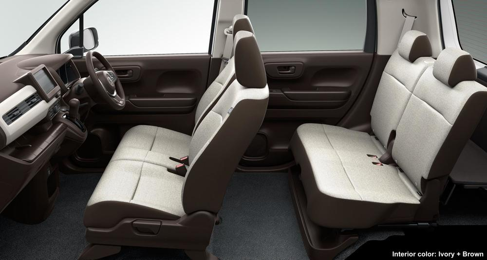 New Honda N Wgn photo: Inside image