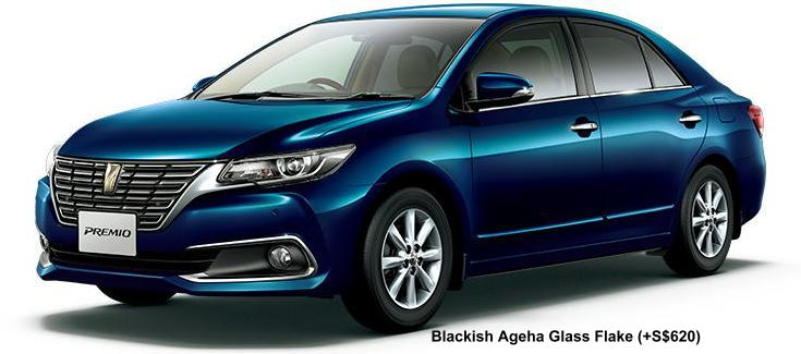 New Toyota Premio Body Colors Full Variation Of Exterior
