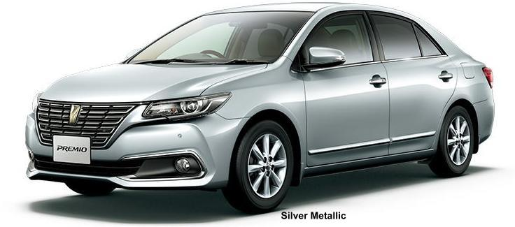 New Toyota Premio body color: SILVER METALLIC