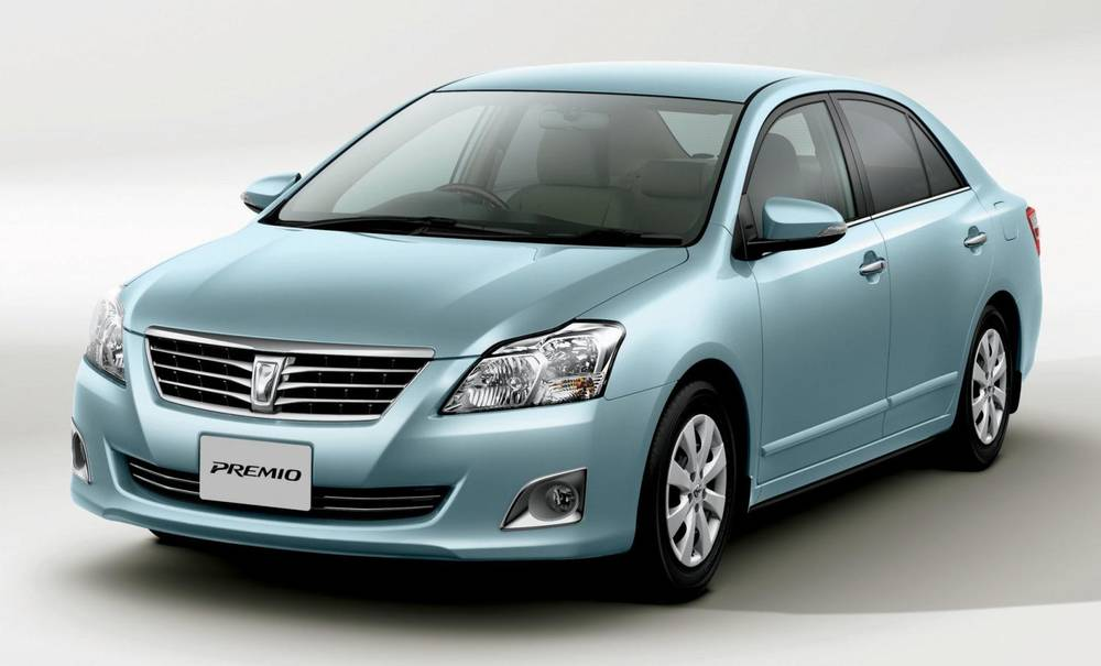 New Toyota Premio photo: Front image