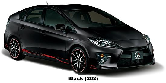 New Toyota Prius G S Body Color Photo G Sport Exterior