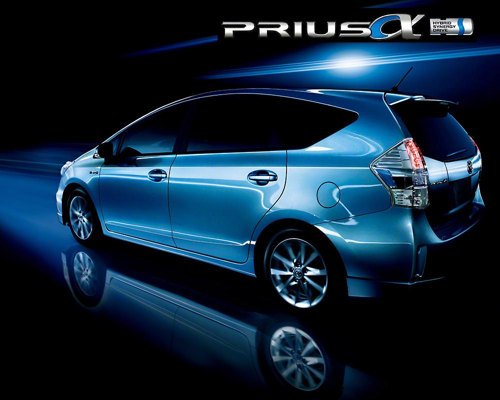 Brand New Toyota Prius Alpha Wallpaper Pictures And Photo