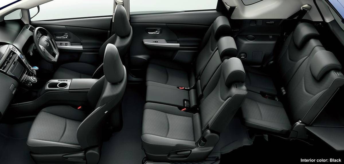 New Toyota Prius Alpha Interior Photo Image Picture