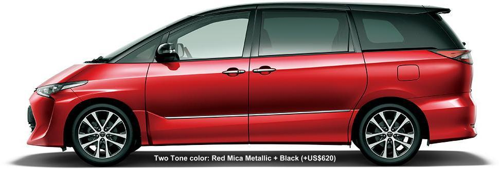 2 TONE COLOR: RED MICA METALLIC + BLACK (option color US$620)