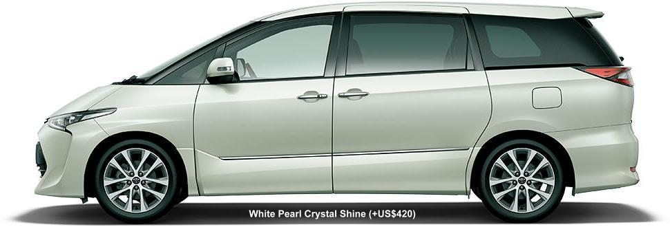 WHITE PEARL CRYSTAL SHINE (option color US$420)