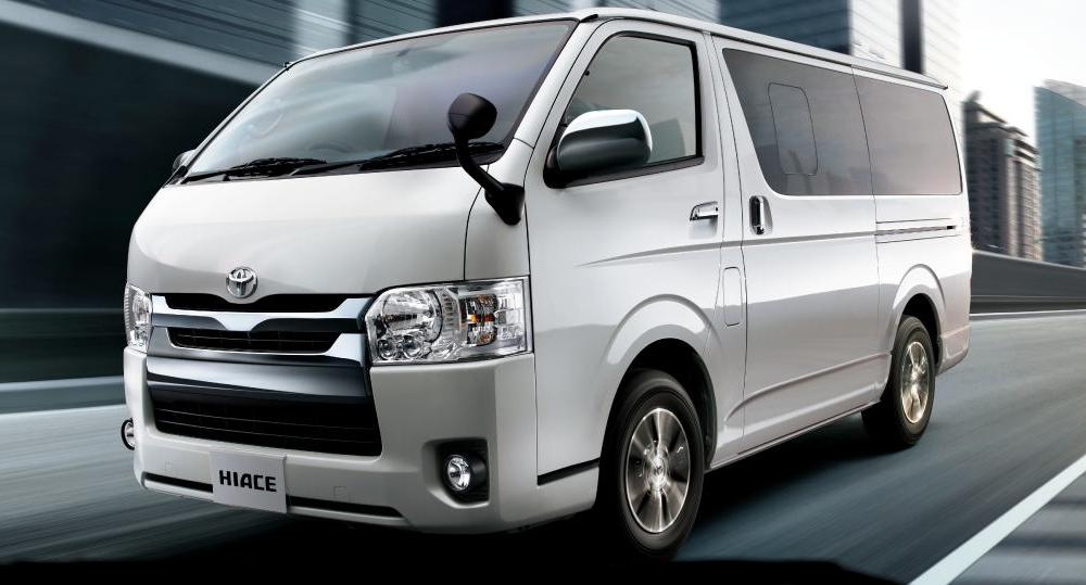 New Hiace Van picture: Front photo