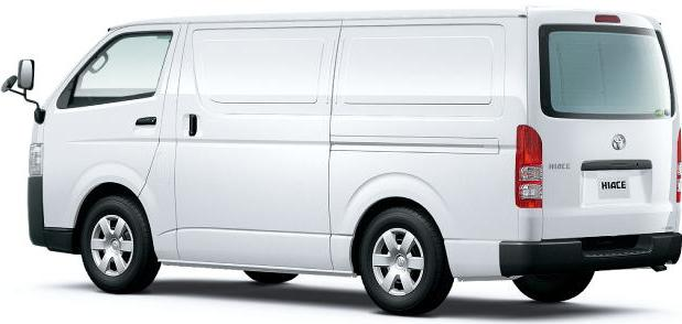 New Hiace Van picture: Back photo