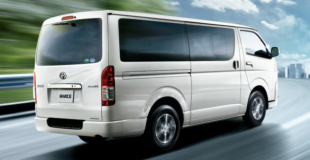 New Toyota Hiace Van Back Picture Rear View Photo And