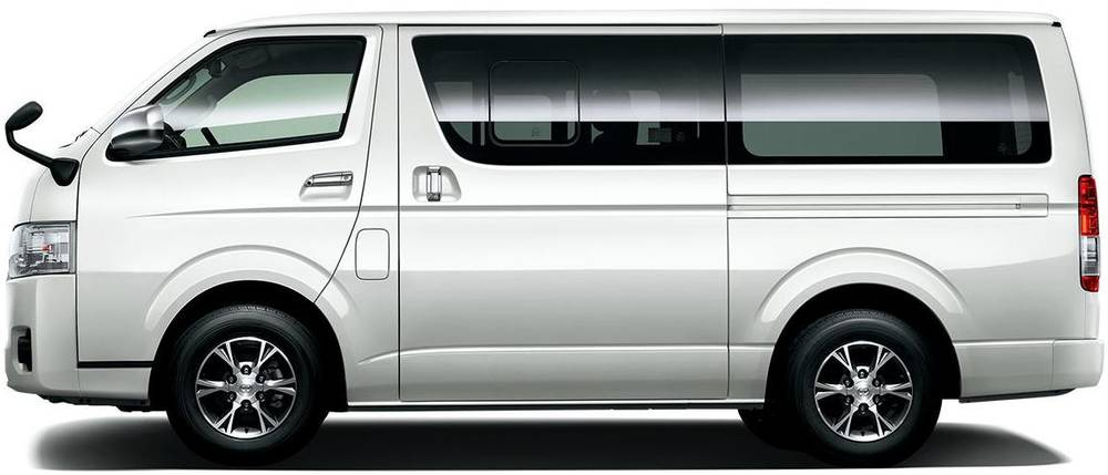 New Toyota Hiace Van Side View Picture Side Photo And