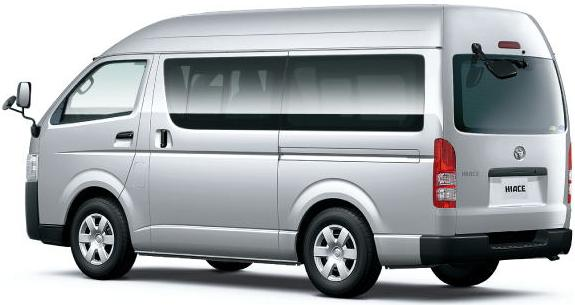 New Hiace Van picture: Back image