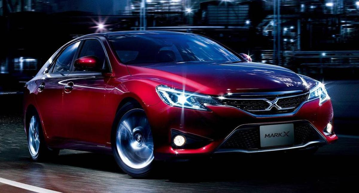 New Toyota Mark X Photo Front Image Picture
