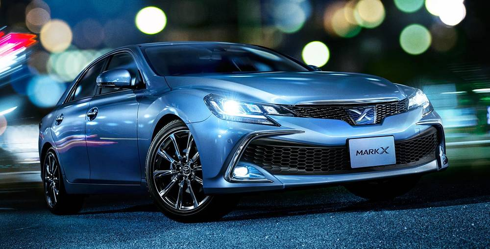 Japanese Automobile Manufacturers >> New Toyota Mark X photo, Front image, Front view picture 2