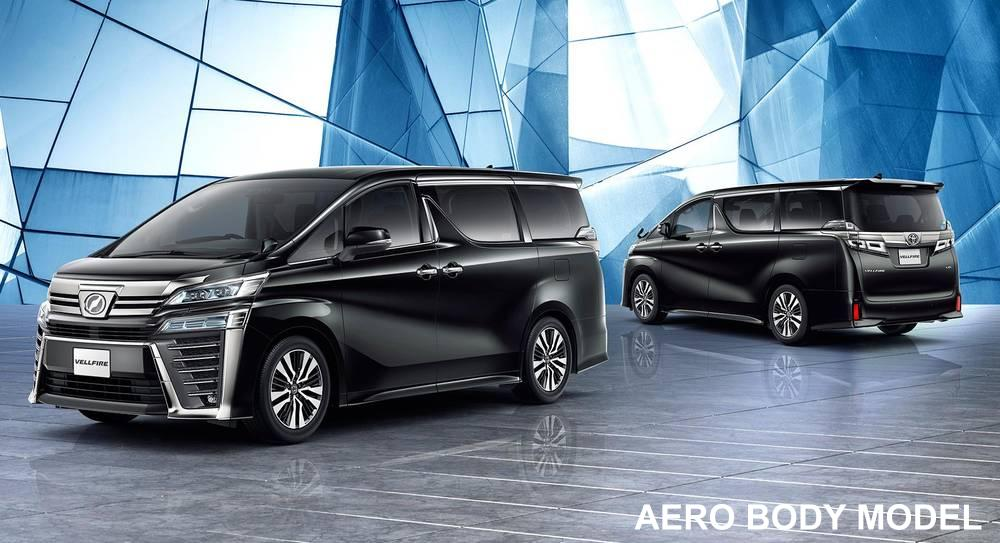 New Toyota Vellfire Aero Body Model pictures