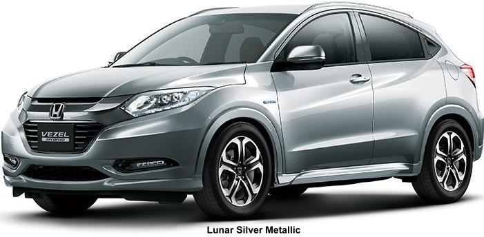 New Cars Com >> New Honda Vezel Body colors, Full variation of exterior ...