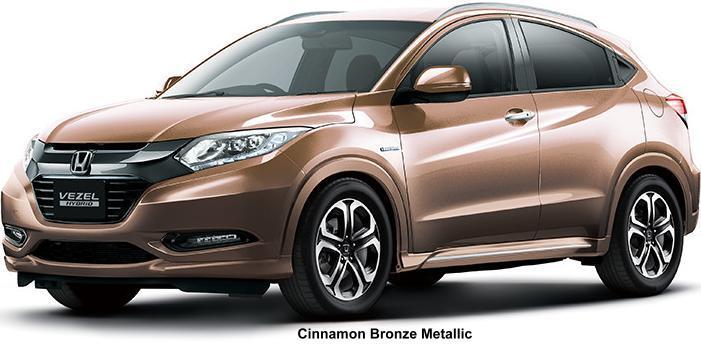 New Honda Vezel Hybrid Body colors, Full variation of ...