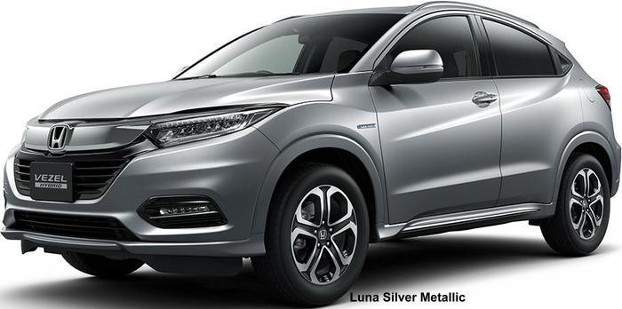 New Honda Vezel Hybrid Body Colors  Full Variation Of