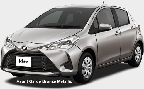 New Toyota Vitz Body Color Photo Exterior Colour Picture Colors Image