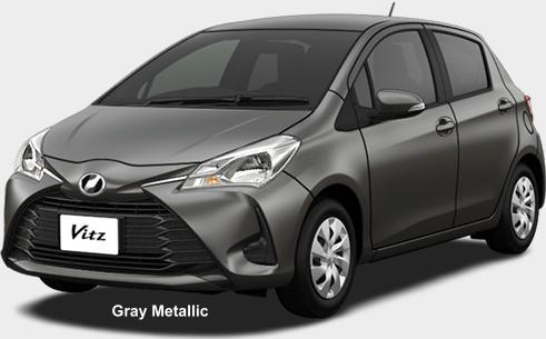 New Toyota Vitz Body Color Photo Exterior Colour Picture