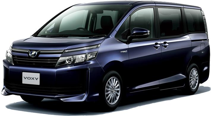 New Toyota Voxy photo: Front view