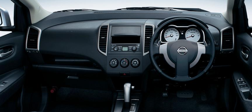 New Nissan Wingroad photo: Cockpit view