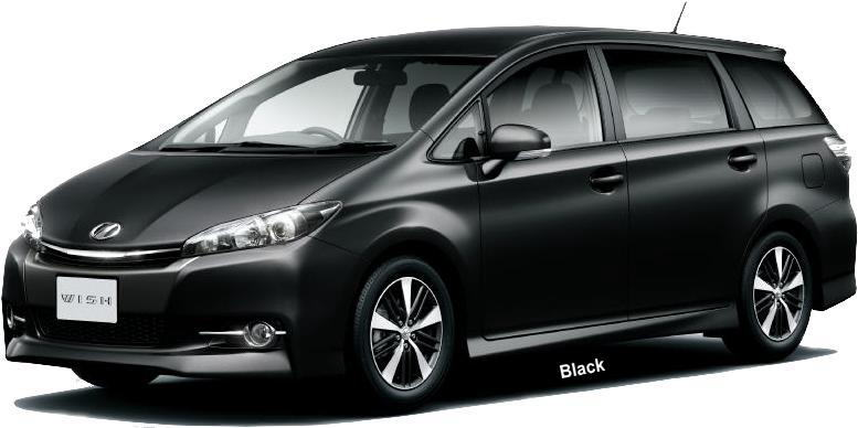 New Toyota Wish Body Color Photo Exterior Colour Picture