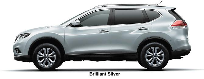 Nissan X-Trail body color: Brilliant Silver