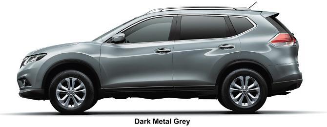 Nissan X-Trail body color: Dark Metal Grey
