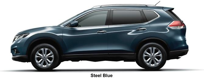 Nissan X-Trail body color: Steel Blue