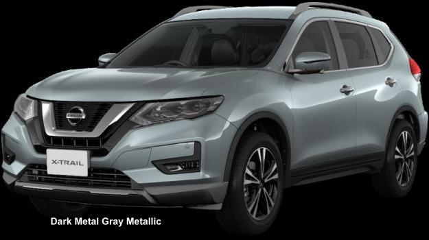 Nissan X Trail >> New Nissan X-Trail Body colors, Full variation of exterior