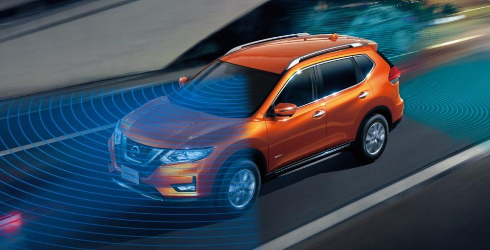 New Nissan X-Trail photo: Safety view image