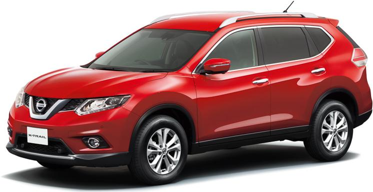 New Nissan X-Trail photo: Front view
