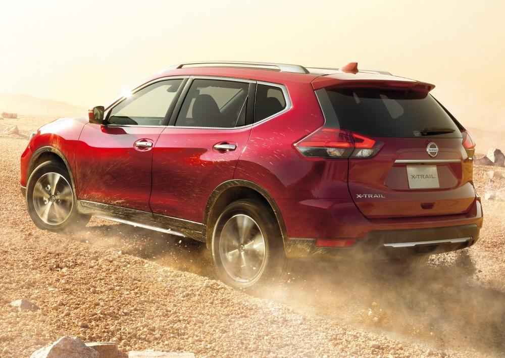 New Nissan X-Trail photo: Back image