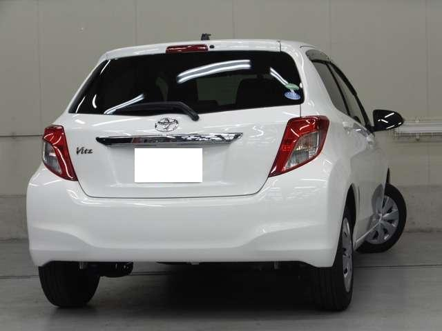 Used Toyota Vitz 2014 Model Pearl White Color Photo Image