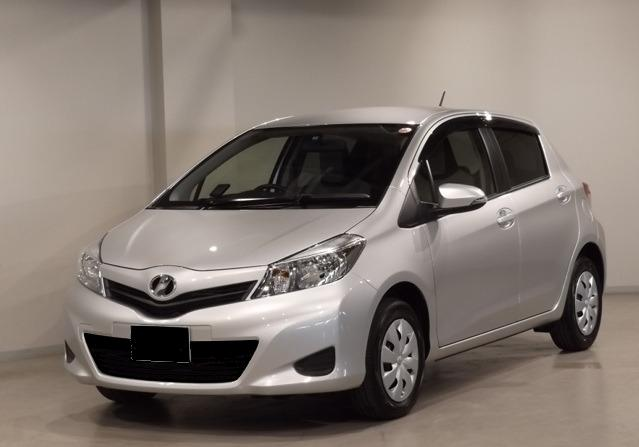 The Car Company >> Used Toyota Vitz 2014 Model Silver color photo, image ...