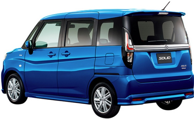 New Suzuki Solio Hybrid photo: Rear image (Back picture)