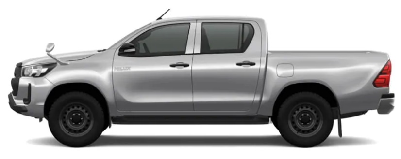 New Toyota Hilux Double Cabin pick up photo: Side view