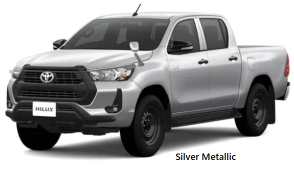 New Toyota Hilux body color: SILVER METALLIC
