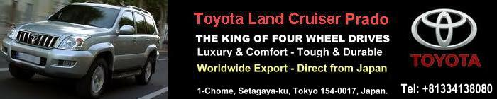 USED TOYOTA LAND CRUISER EXPORTER IN JAPAN