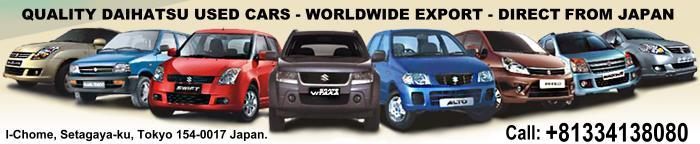 Daihatsu used car for sale in Japan, import used Daihatsu ...