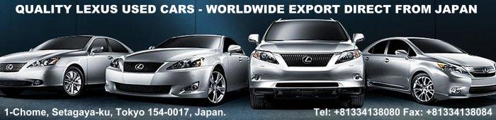 Used Lexus car exporter in Japan