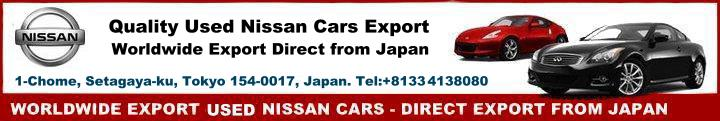 Used Nissan car exporter in Japan